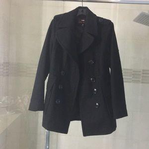 Miss Sixty wool pea coat sz M